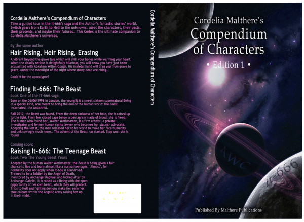 Cordelia's Compendium of Characters Book cover